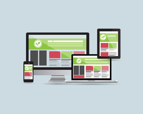 Mobile Responsive school website design