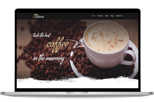 Website designs for cafe in london