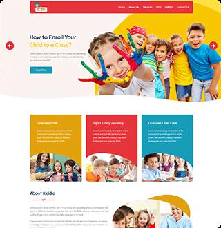 bespoke-kindergarten-wordpress-design