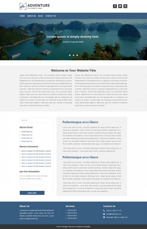 Base Website Theme for Everyone