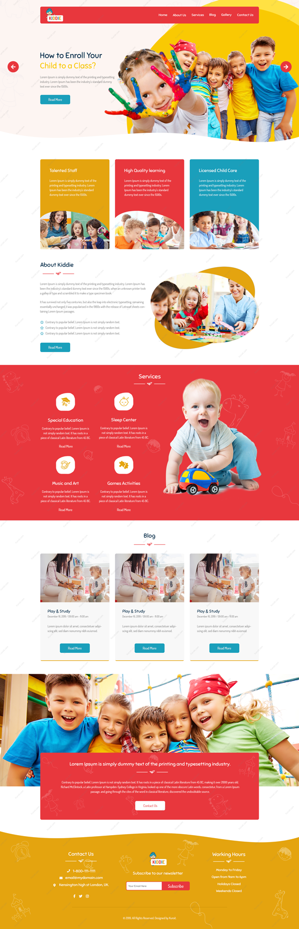 Kiddie-Website-Design