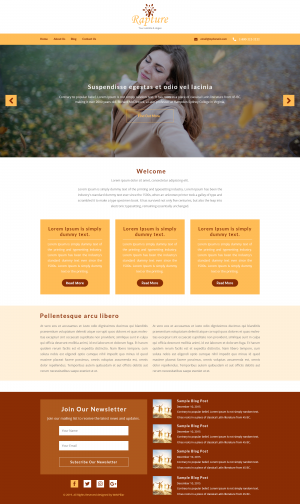 Website Template for Everyone