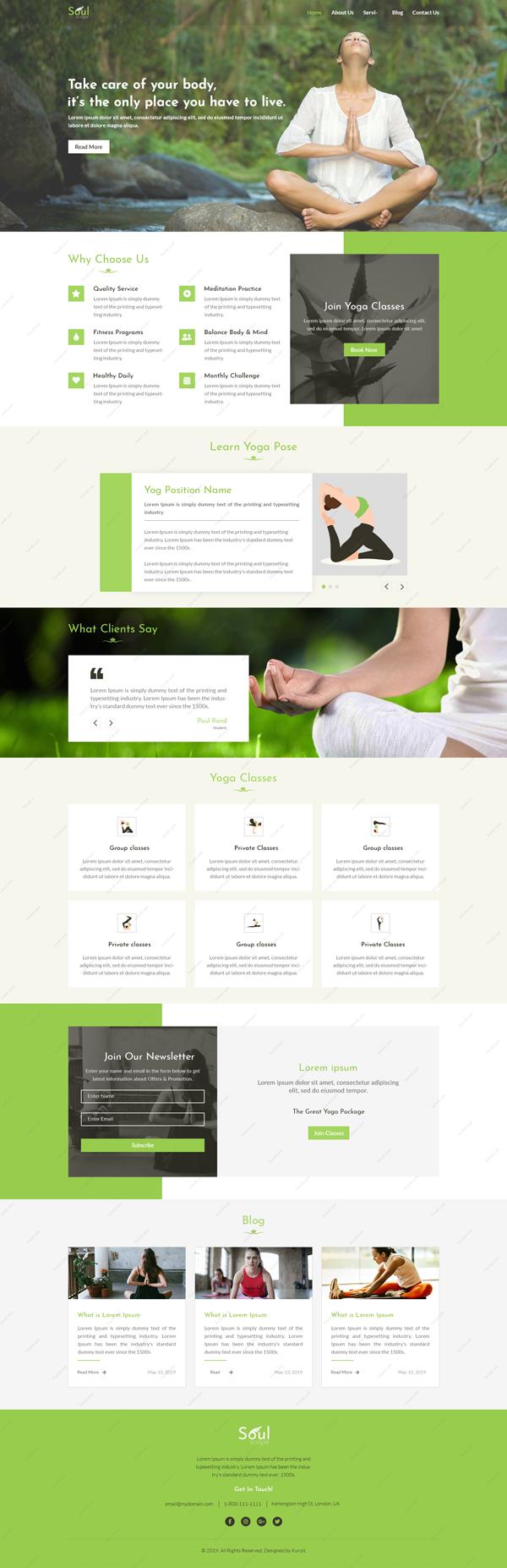 SoulScape-Website-Design