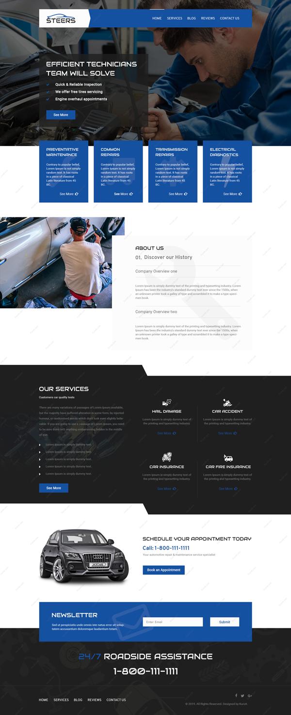 Steers-Website-Design