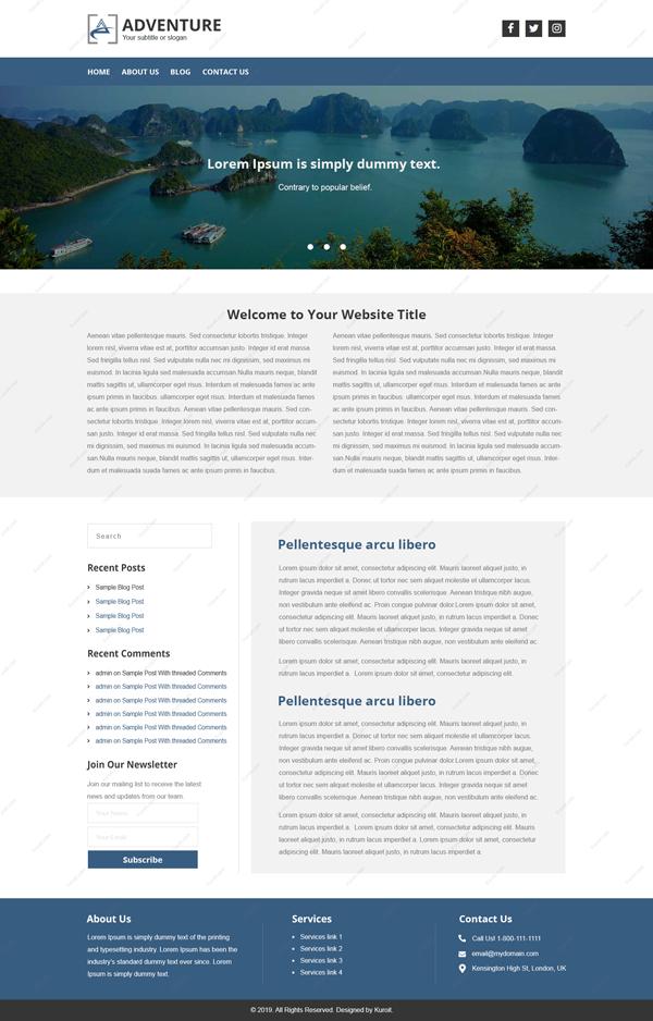 Website-Design-for-Adventure